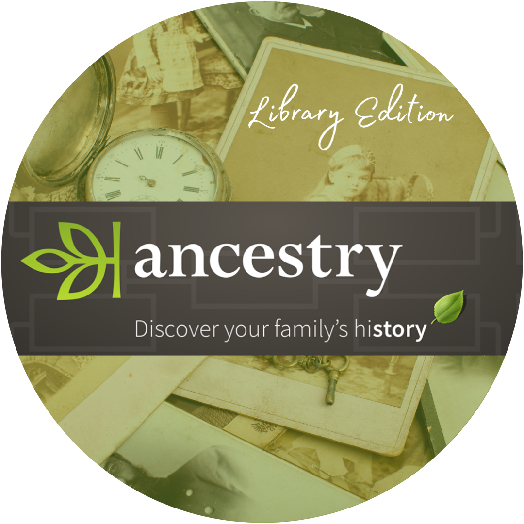 Ancestry at the Library